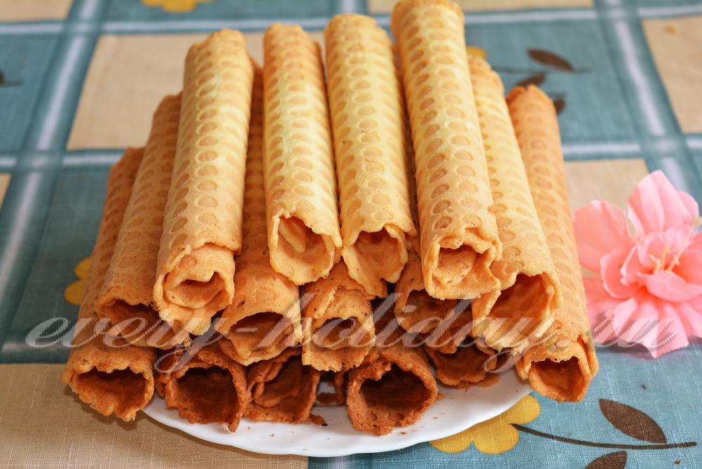 Трубочки рецепт с фото