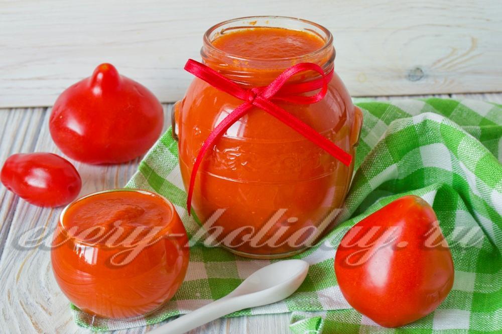 зиму паста томатная рецепты помидоры с фото на