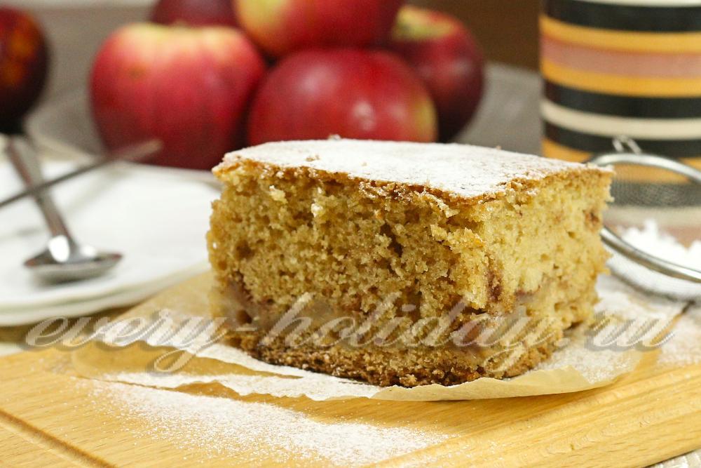 Рецепт наливные пироги на кефире