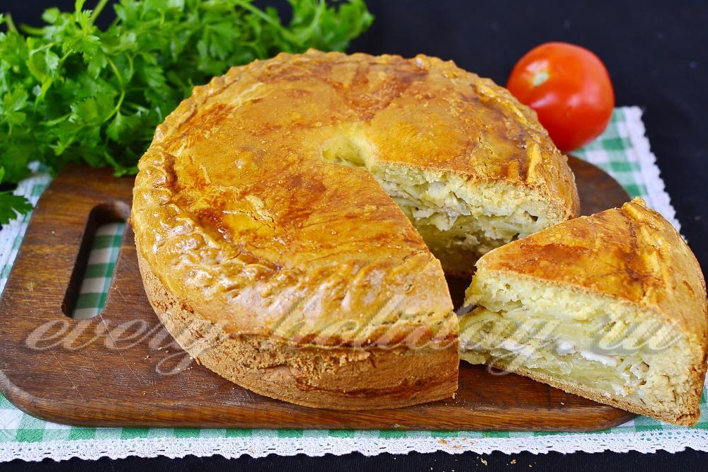 Пирог курник классический рецепт пошаговый