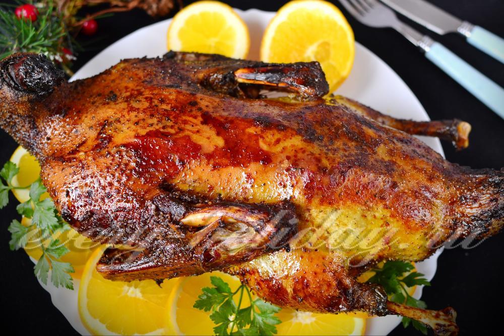 Утка порционная в духовке рецепт с фото