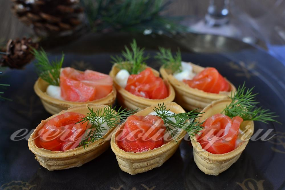 Праздничные закуски из рыбы рецепты