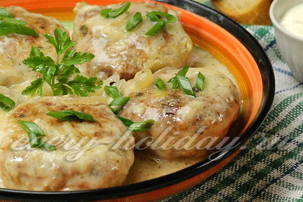 Зразы мясные рецепт с фото пошагово