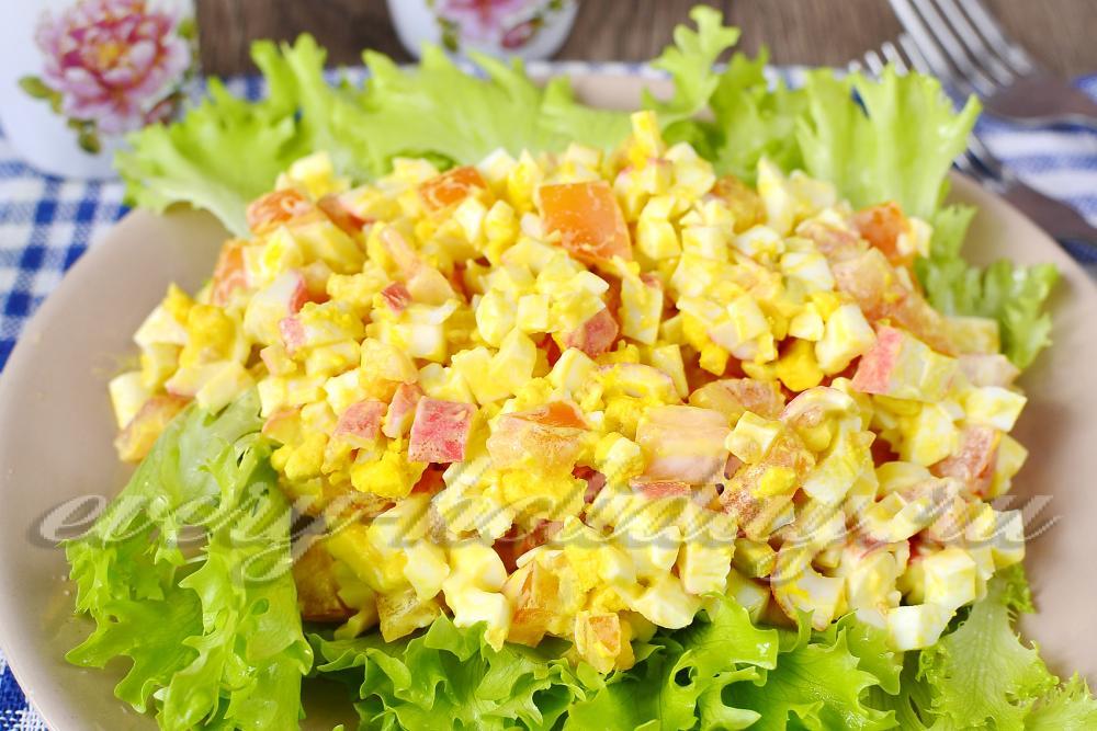 Вкусные салаты с цены