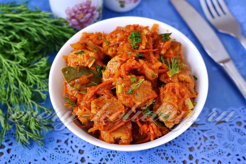 Соевое мясо рецепты блюд  FBru