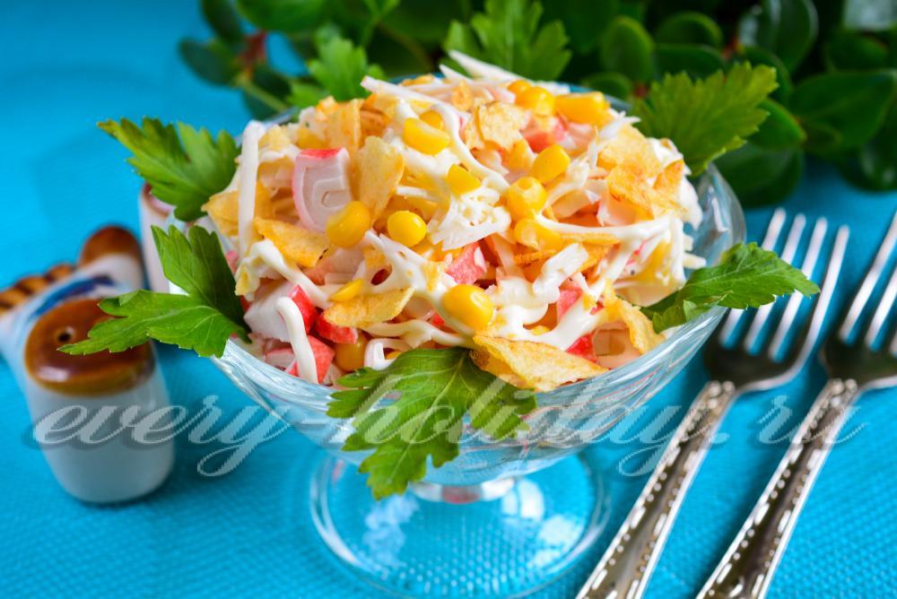 Дешевые праздничные салаты рецепты