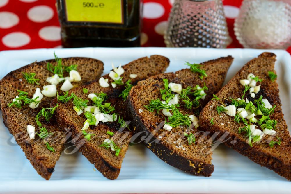 Тарталетки из черного хлеба рецепты с фото