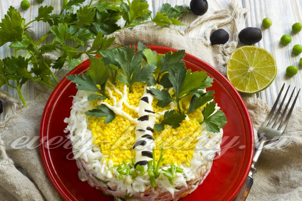 Рецепты летних салатов и закусок