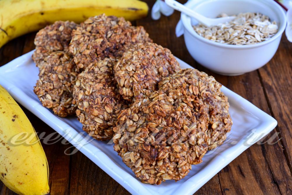 Постные овсяные печенья домашний рецепт