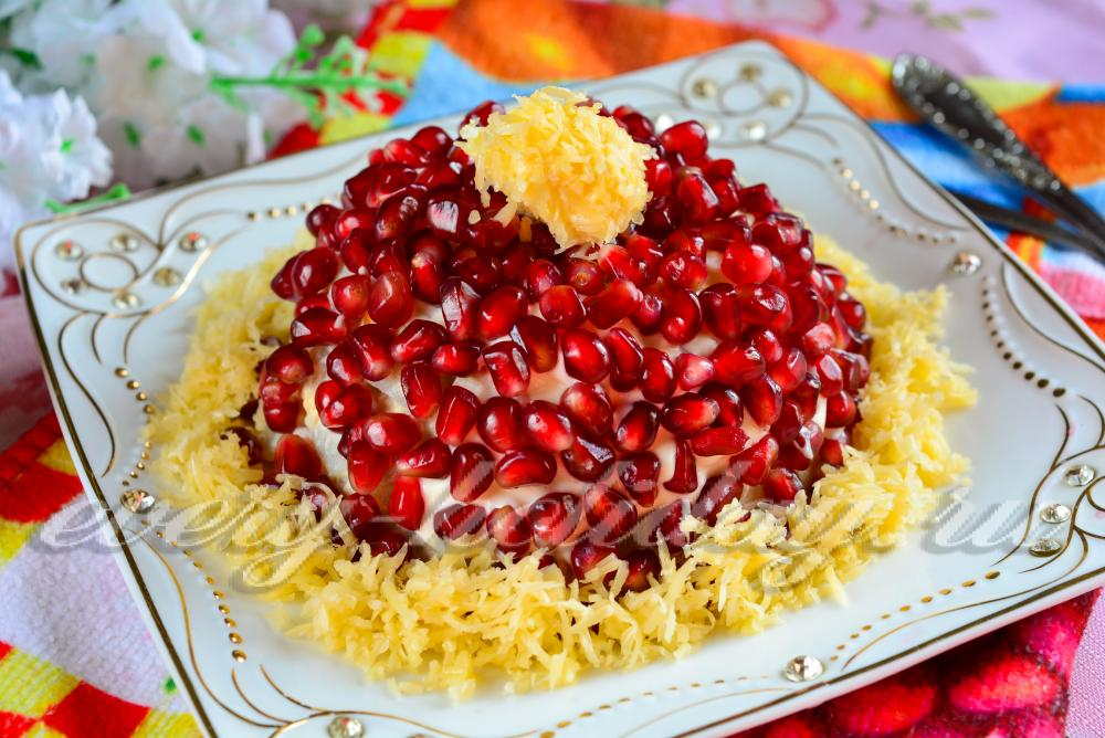 Вкусный салат к празднику с