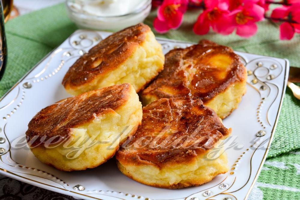 Сырники из творога рецепты с фото пошагово на сковороде пышные