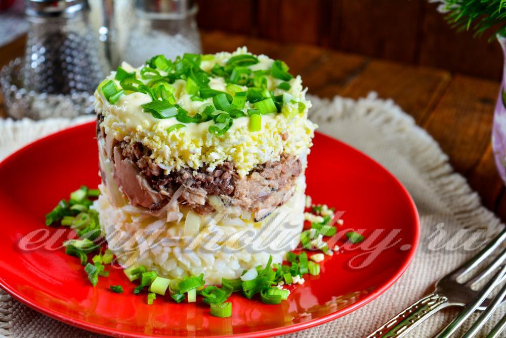 Рецепт салата праздничный с