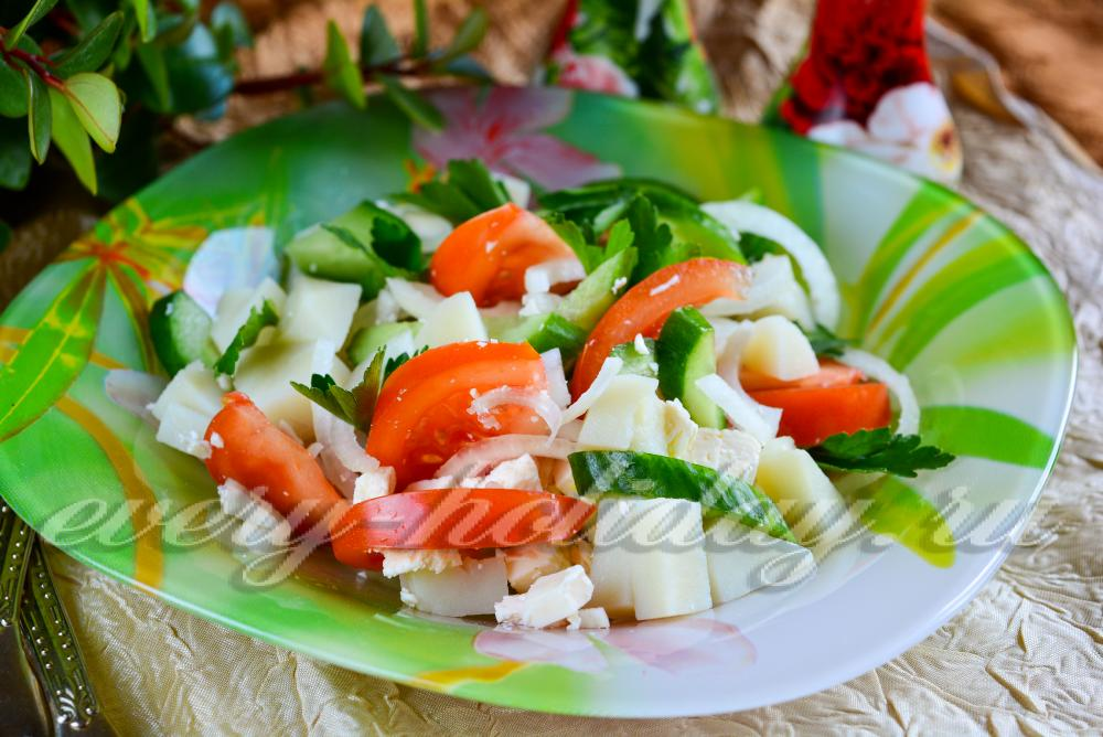 Недорогой салат рецепт с