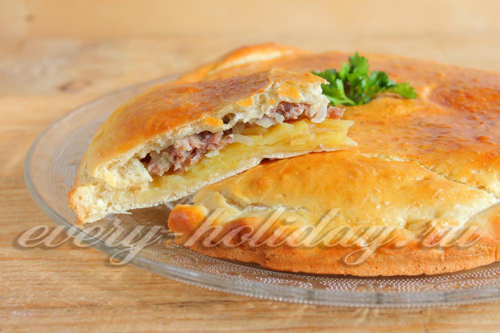 Рецепт курников с фаршем и картошкой