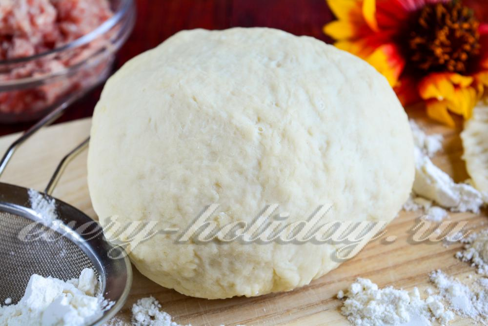 Как замесить заварное тесто на чебуреки