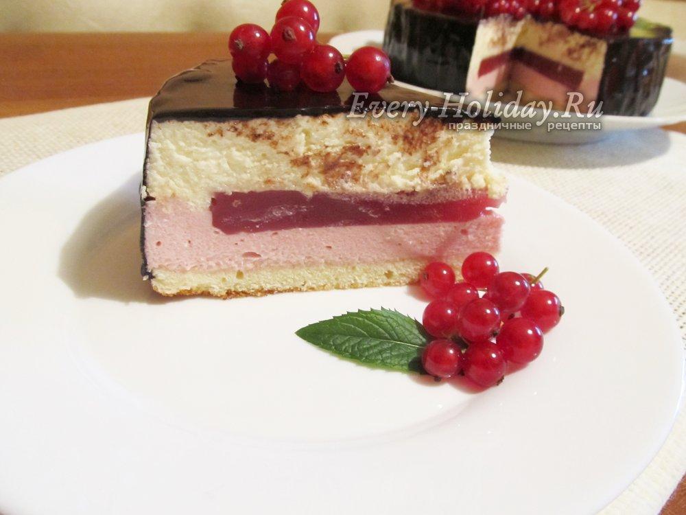 Муссовые торты рецепты пошагово с фото