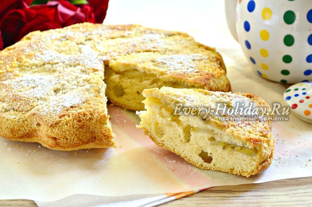Пирог с бананом в духовке рецепты
