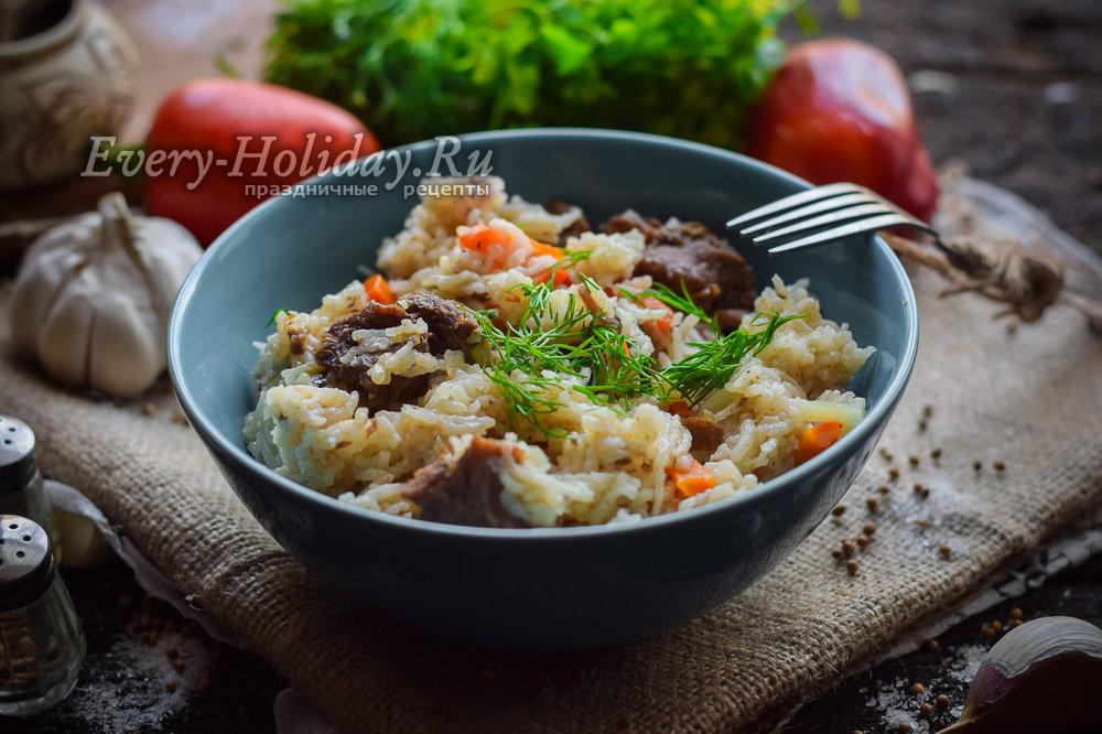 Рис с тушенкой рецепт в кастрюле пошагово 89