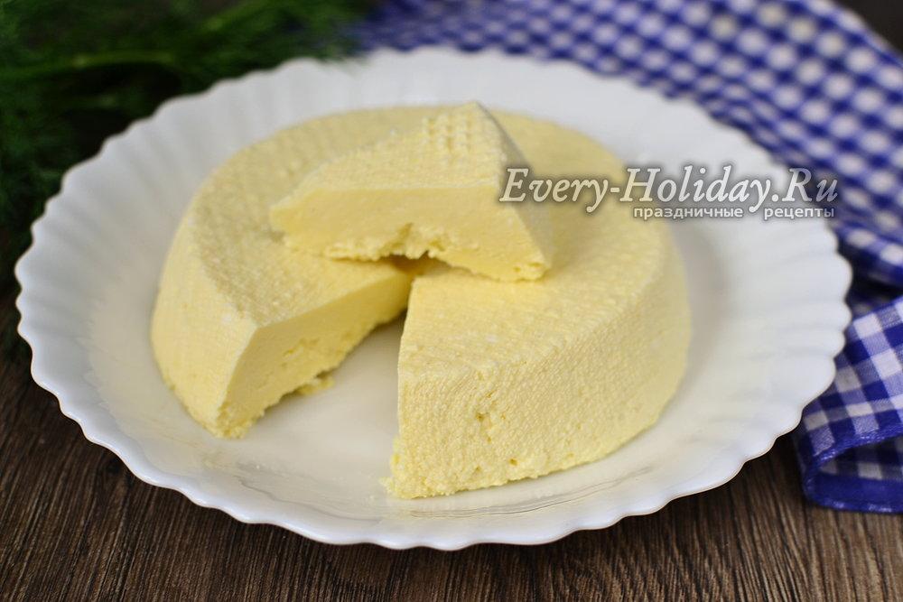 Как сделать сыр из козьёго молока 605
