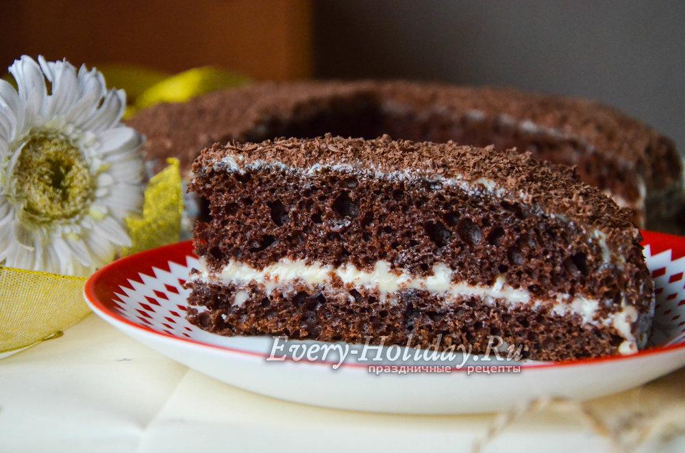 Торт черный принц классический рецепт пошагово