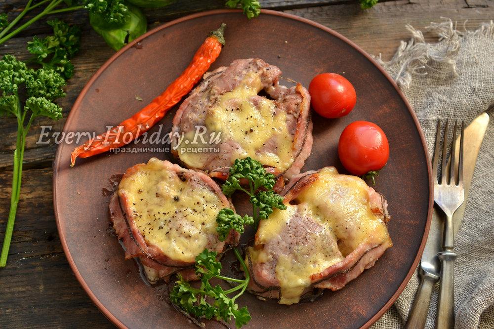 Рецепт медальонов из свинины в духовке рецепт