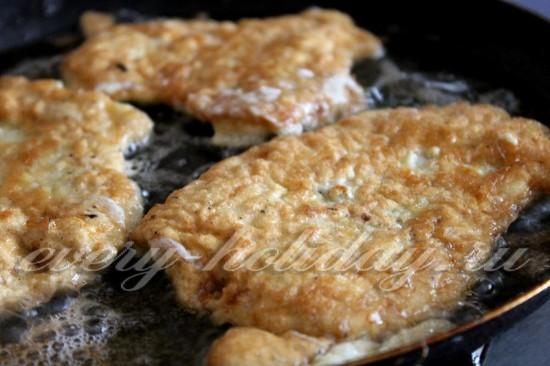 отбивная из свинины на сковороде рецепт с фото с сыром