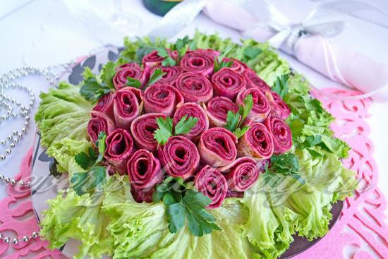 Салат «Розы»