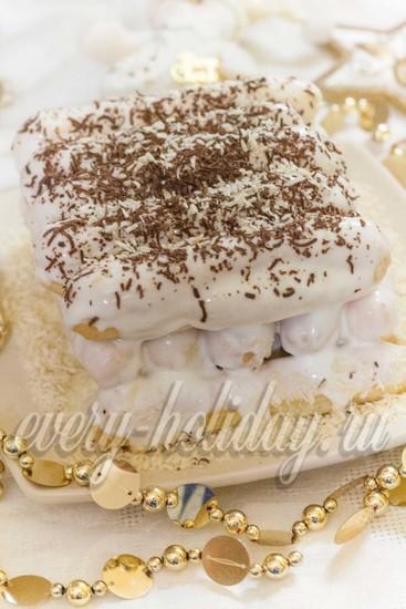 Торт «Поленница»