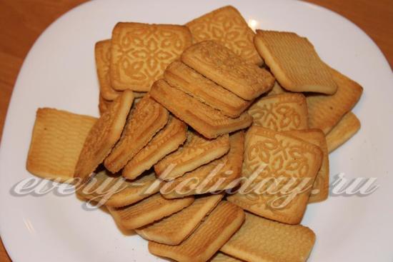 подберите простое песочное печенье