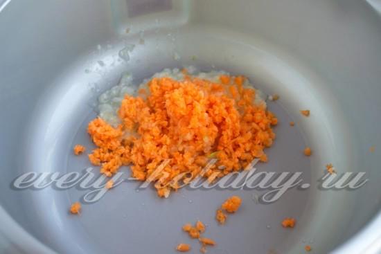 морковь и лук перемолоть