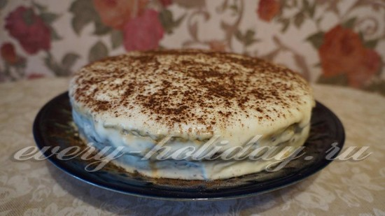 рецепт черемухового торта