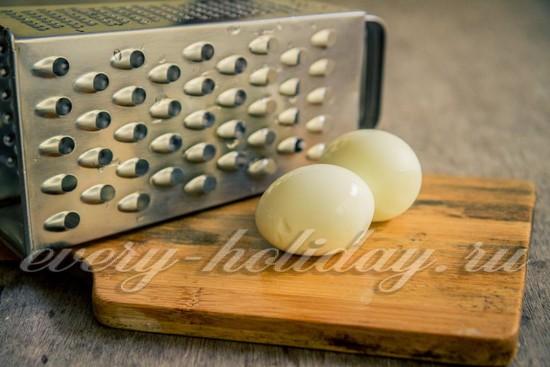 яйца натрите