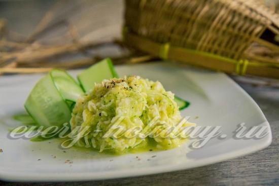 Нежный салат из дайкона