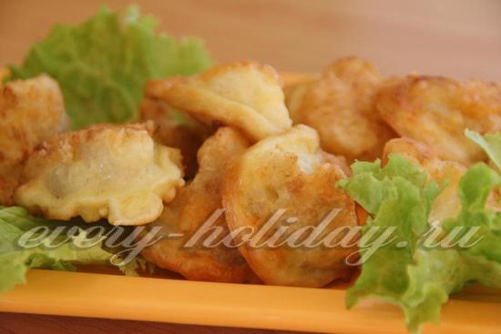 цветная капуста в кляре с сыром пошаговый рецепт