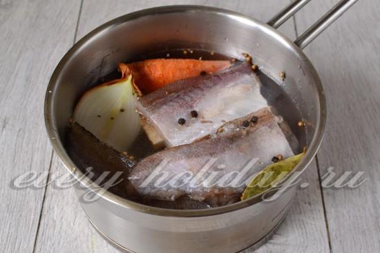 приготовить рыбный бульон