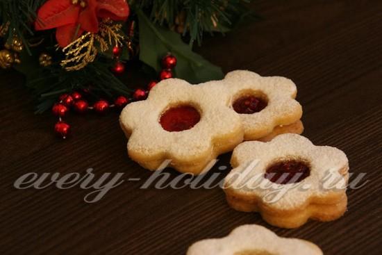 рецепт новогоднего печенья «Англси»