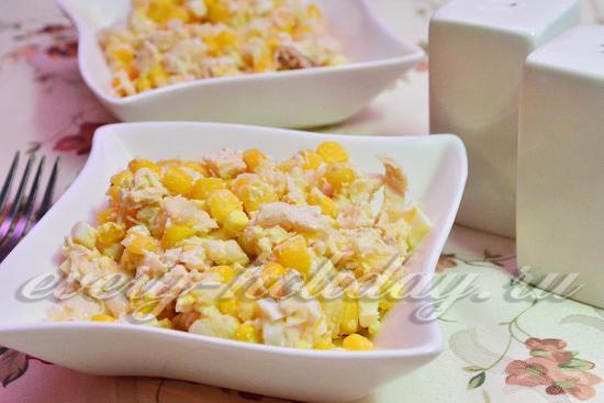 как приготовить салат с куриной грудкой