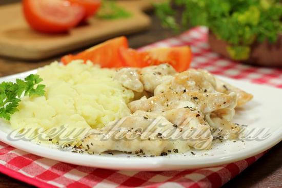 рецепт фрикассе из курицы