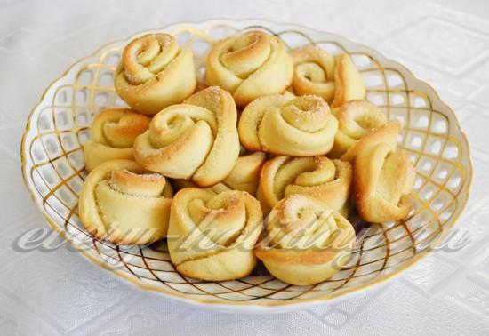 Творожное печенье пошагово