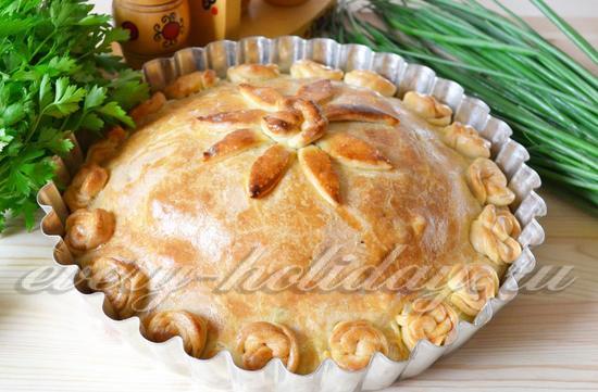 Курник пирог