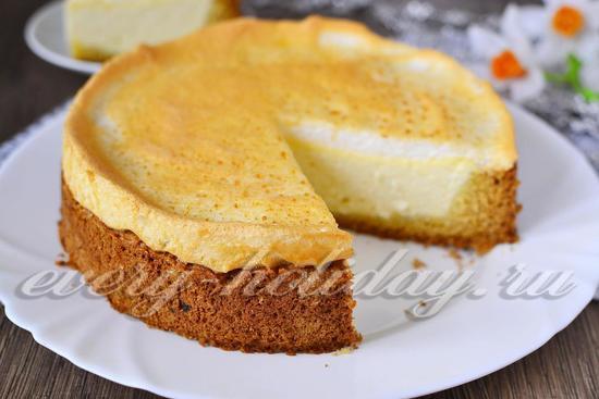 рецепт торта Слезы ангела