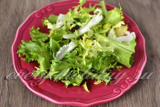 Салат нежность с киви