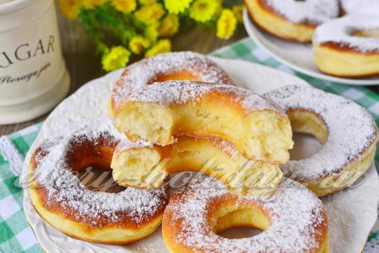 Пончики рецепт классический пошаговый рецепт с на