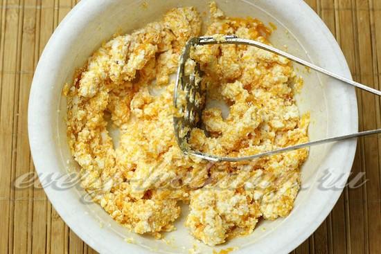 Ленивые вареники с тыквой - рецепт с фото