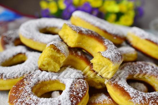Как сделать пончики в домашних условиях рецепт с фото