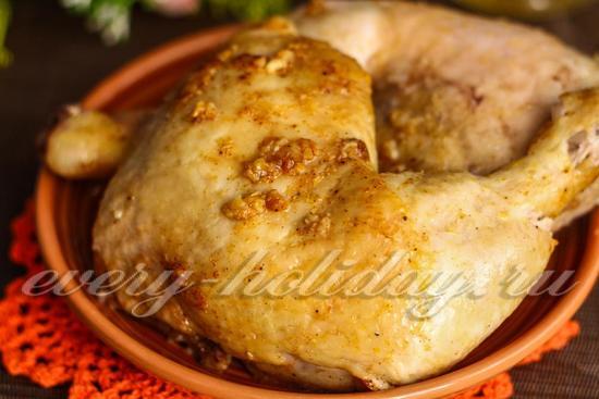 Курица в фольге в духовке: рецепт с фото пошагово