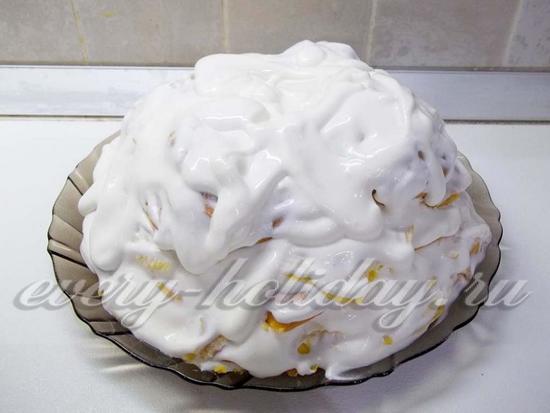 торт с домиком рецепт