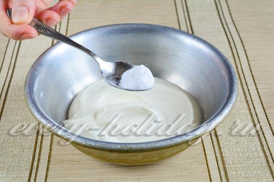 Шарлотка без соды рецепт с пошагово