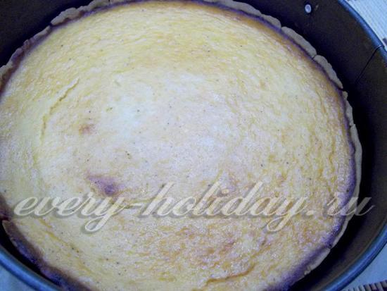Пирог испечен
