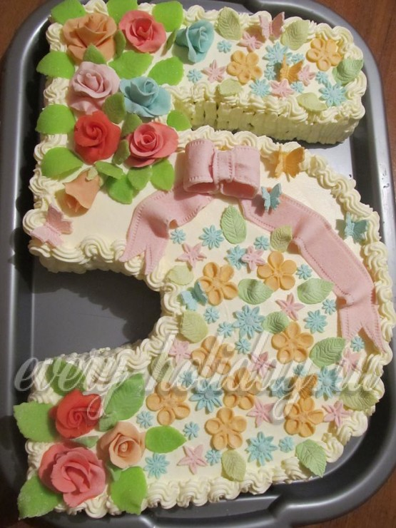 Торт в виде бюста пошагово